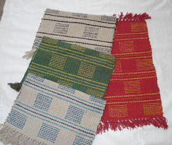 Rectangular Cotton Assorted Rug, Size: 60x90 cm