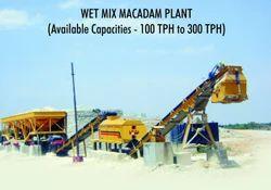 Wet Mix Macadam Plant
