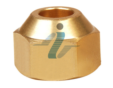 Golden Brass Flare Short Nut