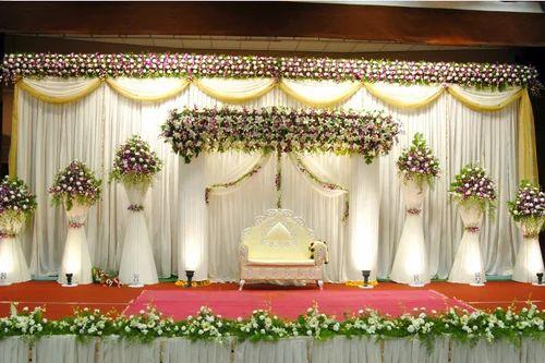 Wedding stage flower decoration in girgaon mumbai happy flower wedding stage flower decoration junglespirit Choice Image