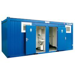 Construction Sites Mild Steel Toilet Cabin