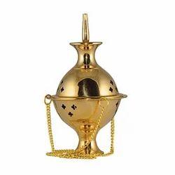 Designer Brass Incense Burner