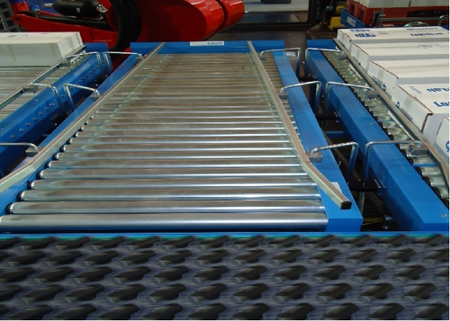 Stainless Steel And Rubber Roller Conveyor, Type:Vertical ,Vibrating , Material Handling Capacity (Kg Per Feet):50-300