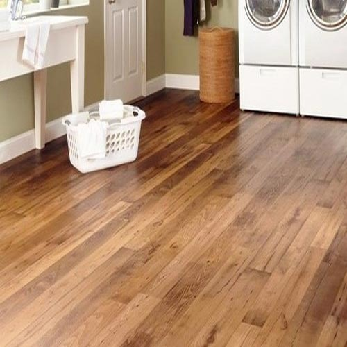 Brown Wooden Vinyl Flooring Size Square Feet 12 X 7