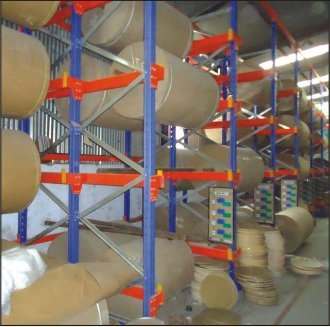 Paper Roll Rack Manufacturer From Ahmedabad