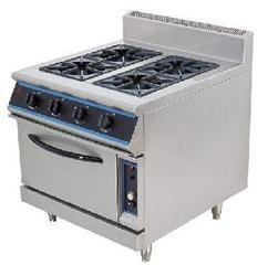 Electric 4 Burner with Oven