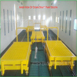 Down Draft Dry Type Paint Booth