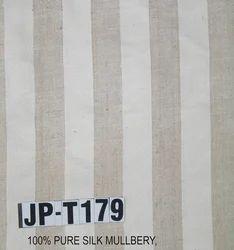 Warp Stripe Matka Silk Fabric for Curtain