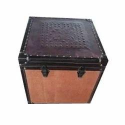 Leather Storage Trunks