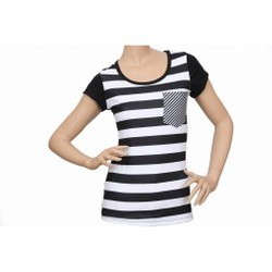 05a40324 Womens Round Neck T-Shirt | Red Parrot Fashions Pvt Ltd ...