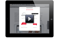 iPad Native Scroll Software Solution