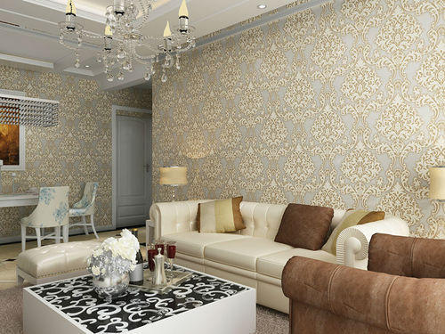 Wall Covering PVC Wallpaper Wholesale Trader from New Delhi