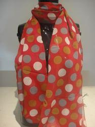 Printed Polyester Scarves