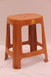 Brown Plastic Stools