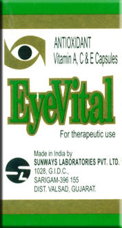 Eyevital Vitamin E Capsules