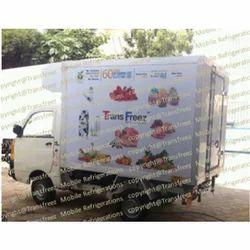 Food Distribution Refrigerated Vans
