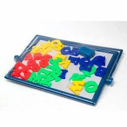 Magnetic ABC Numeroboard