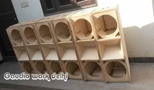 Speakers Cabinet Line Array Empty Cabinet Dual 12