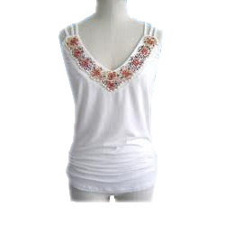 5682cf17d700c1 Ladies Sleeveless Top