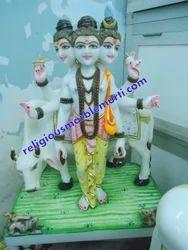 Duttatrya Marble Statues