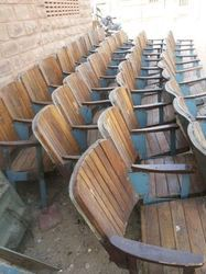 Iron Rustic Bench