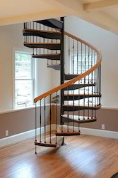 Wrought Spiral Staircase