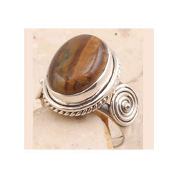 Picturesque Tiger Eye Ring