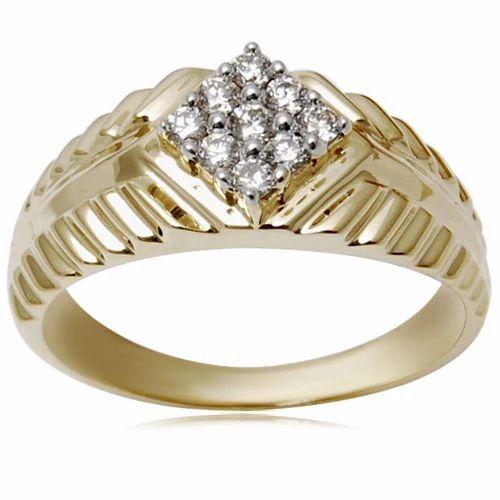New Design Gold Finger Ring Sone Ki Angoothi Valentine