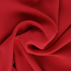 Red Polyster Fabric, For Garments, GSM: 100-150 GSM