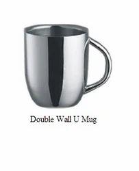 Double Wall U Mug