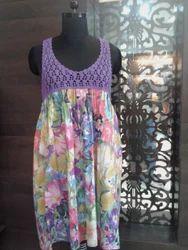 Lace Printed Dress