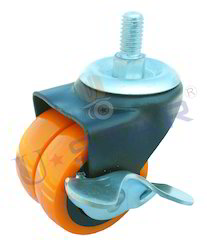PU Brake Caster Wheel