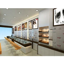 Complete Spectacles Showroom Designing Solution