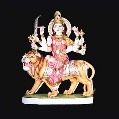 Durga Murti Marble Durga Murti Manufacturer From Jaipur