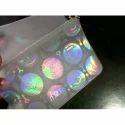 Plastic Hologram Pouches