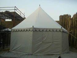 White Bhurj Tent