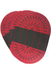 Table Mat (set Of 4) - Red