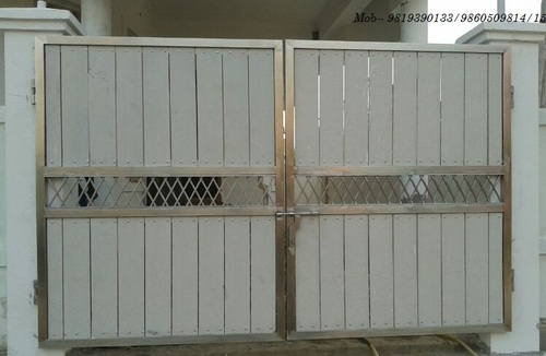 Classic Stainless Steel Main Gate