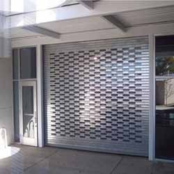 Electrically Operated Rolling Shutters