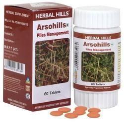 Arsohills - Hemorrhoids Support Formula - 60 Tablets