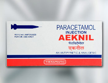 Aeknil 150 Paracetamol Injection
