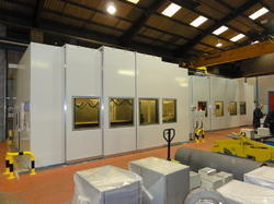 Acoustic Enclosure for Plasma Cutting Machines
