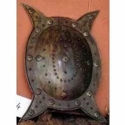 Antique Finished Battle Shield