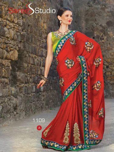 7d7ce93346 Bridal Saree at Rs 3000 /piece(s) | Bridal Sarees | ID: 4826824948