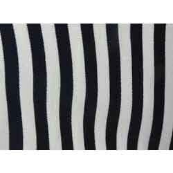 Striped Fabrics Black And White Stripe Fabric Manufacturer From Delhi