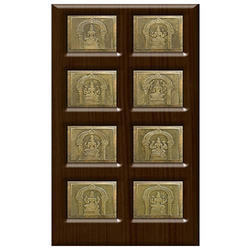 pooja room doors designs