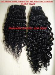 Human Hair Extension Curly