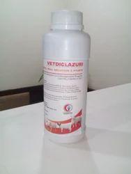 Vetdiclazuri (Diclazuril 2.5% Oral Liq), 500 Ml And 1 Ltr