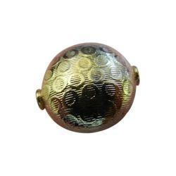 Texture Metal Beads