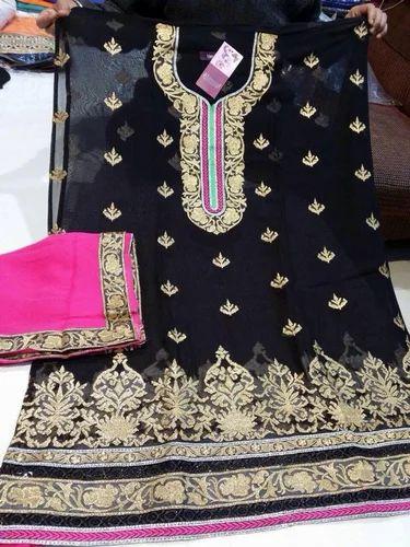 Jain Cloth House, Phagwara - Retailer of Black Ladies Suit